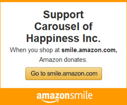 Amazon Smile, Support the Carousel of Happiness